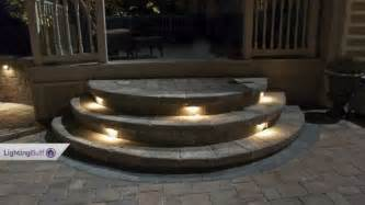 solar step lights lowes outdoor deck step lights