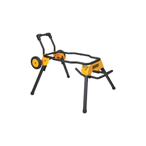 dewalt rolling stand for table saw dewalt rolling table saw stand dwe74911 the home depot