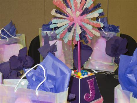 bat mitzvah centerpieces for sale simply invitations glitter events nj event planners s bat mitzvah