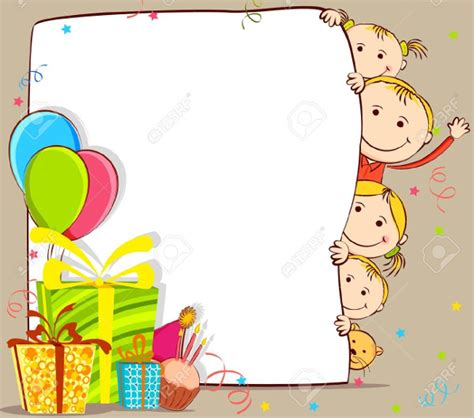 Gift Cards For Children - birthday card templates free premium templates