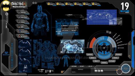 computer interface themes batman computer computador de batman by luchotru on