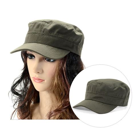 cap styles for women adjustable army military cadet style hat cotton cap men