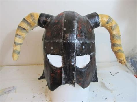 How To Make Iron Helmet With Paper - make the skyrim iron helmet
