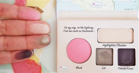 Palatte California By The Balm thebalm autobalm hawaii palette review