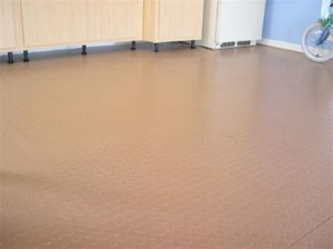 How To Get Out Of Garage Floor by How To Install Polyvinyl Floor How Tos Diy