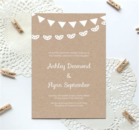 Wedding Invitation Paper Templates by 40 Free Must Wedding Templates For Designers Free
