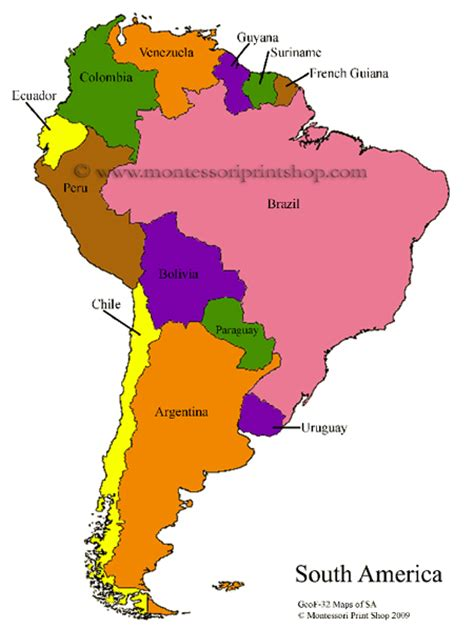 south america map labeled blank south america maps for labeling
