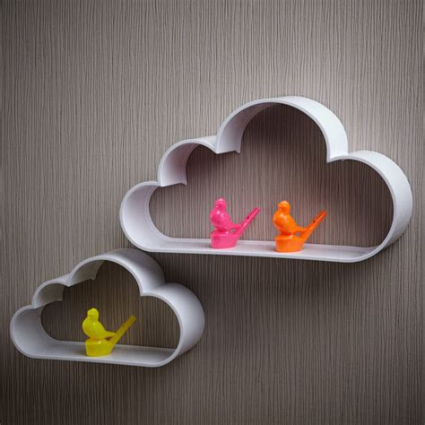 cloud wall shelves by pink biscuits notonthehighstreet