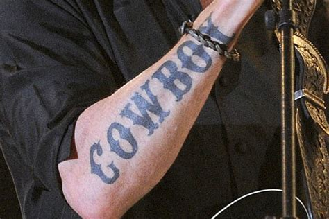 big country tattoo can you guess whose this is
