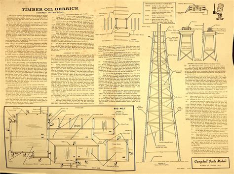 the timber oil derrick at the san juan oil co the