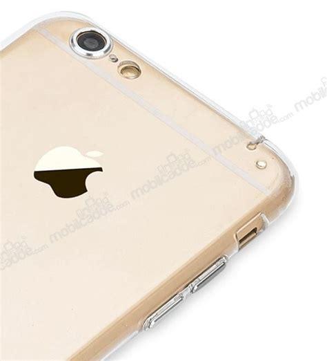Totu Iphone 6 Plus Rosegold totu design iphone 6 plus 6s plus gold metal tuşlu kamera korumalı kılıf