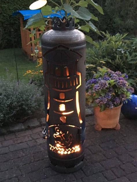 gasflasche feuerstelle outdoor feuerstellen aus gasflaschen