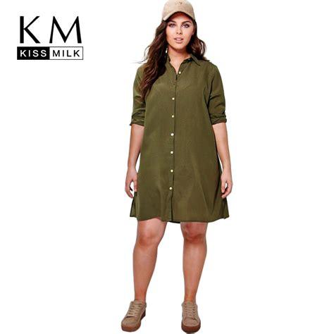 kissmilk plus size new fashion clothing casual solid