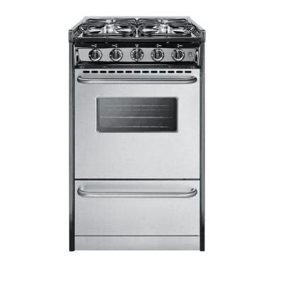 summit appliance 20 in 2 5 cu ft slide in gas range in