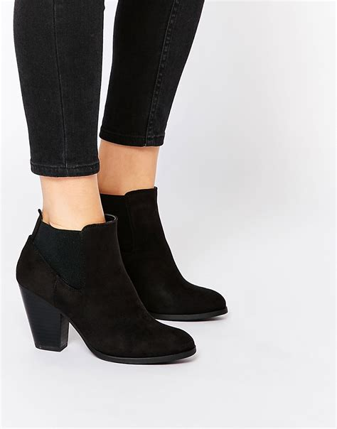 call it boots for call it call it hudia western black heeled