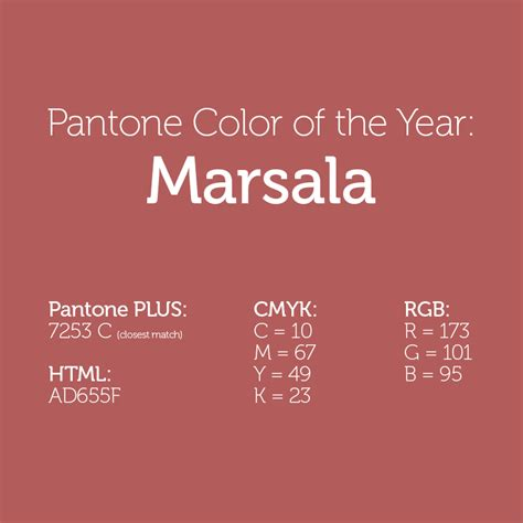 pantone color of the year list image gallery marsala pantone