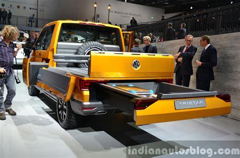 volkswagen truck concept paris live vw tristar concept
