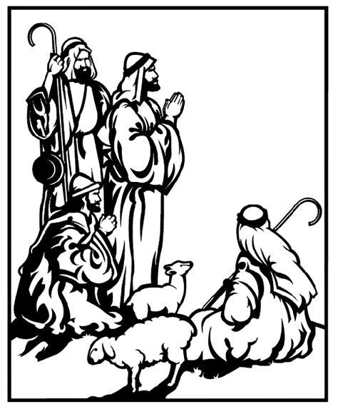 coloring page shepherds christmas christmas shepherds coloring page crayola com
