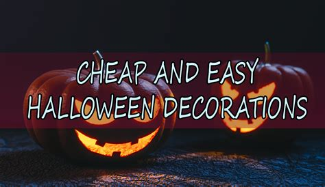 cheap and easy decorations cheap and easy decorations in 2016 tiny spaces
