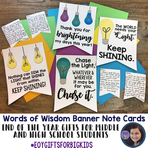 cards for students from student gifts free end of year printables for big