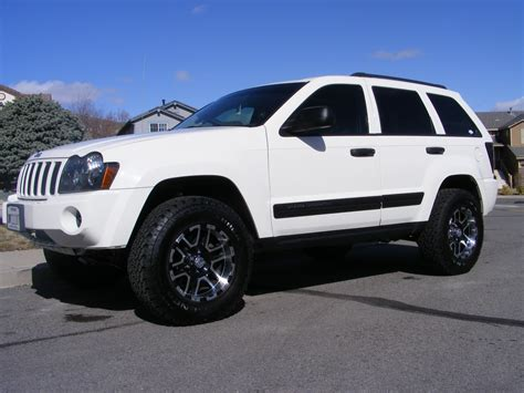 old white jeep cherokee 1oneseven7 2006 jeep grand cherokee specs photos