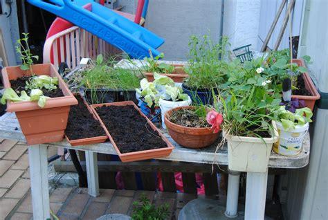 Garten Pflanzen Tisch by Garten Tisch Blumen Und Bl 252 Ten Pflanzen Und Co