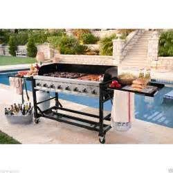 Kitchen Islands Ebay New 8 Stainless Steel Burner Commercial Bbq Event Propane