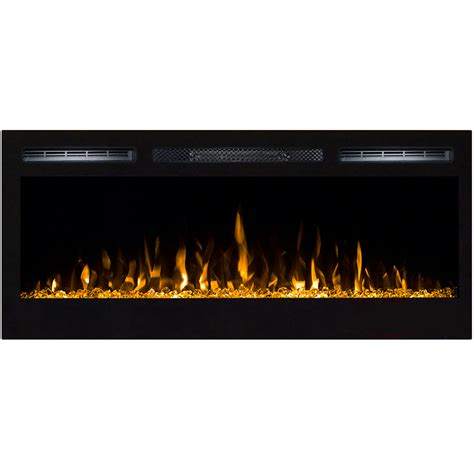 Recessed Wall Mount Electric Fireplace by 35 Inch Built In Ventless Heater Recessed Wall