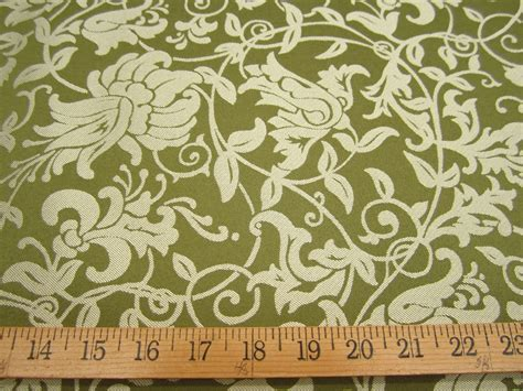 green jacquard wallpaper green floral drapery fabric www pixshark com images