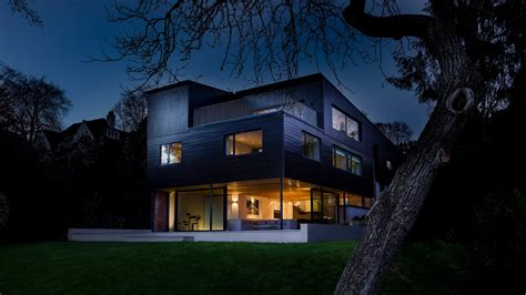 architecture one off contemporary houses by strom architects hartrow strom architects