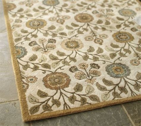 pottery barn floral rug pin by honest cup of tea on for the home