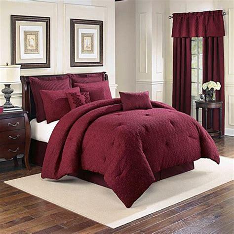 sonoma comforter sonoma 4 piece comforter set in merlot bed bath beyond