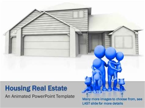 real estate powerpoint template presentationgo com housing real estate a powerpoint template from