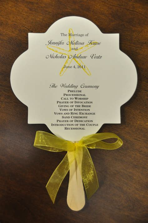 how to wedding program fans sle wedding programs nicholas wedding