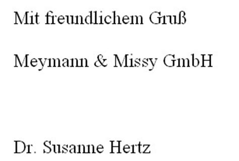 Mit Freundlichen Grüßen Zwei Namen Briefschluss Nach Din Norm Gru 223 Unterzeichner Anlage