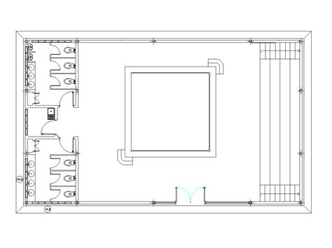 floor plan dwg boxing floor plan design dwg cad blocks free