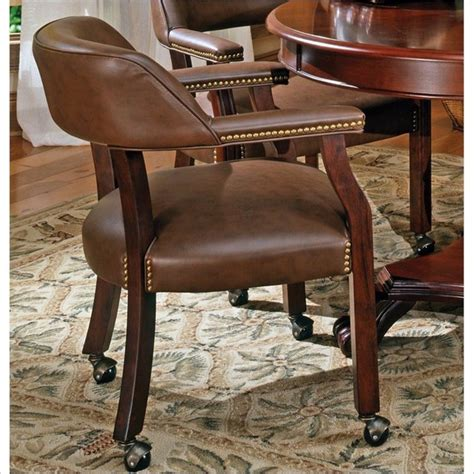 game table chairs with casters dining room chairs with wheels recreational game table