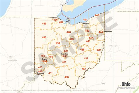 printable zip code maps zip code map ohio world map 07