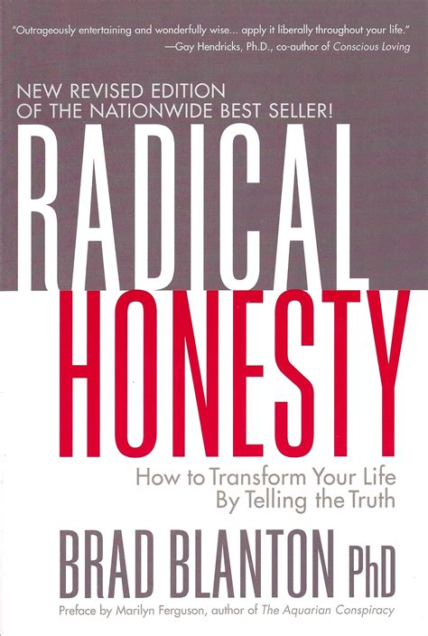 perfectly yourself new and revised edition books radical honesty new revised edition