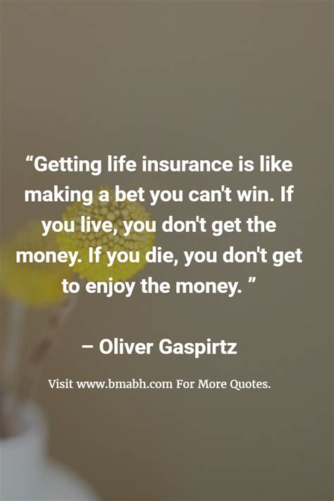 funny sayings  life insurance bmabh quotes