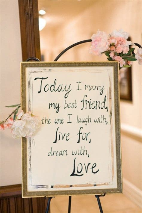 Today I Marry My Best Friend Quote   Best Friend Quotes