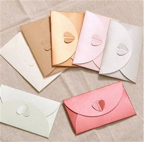 card envelope fashion pearl paper envelope wedding invitation card gift