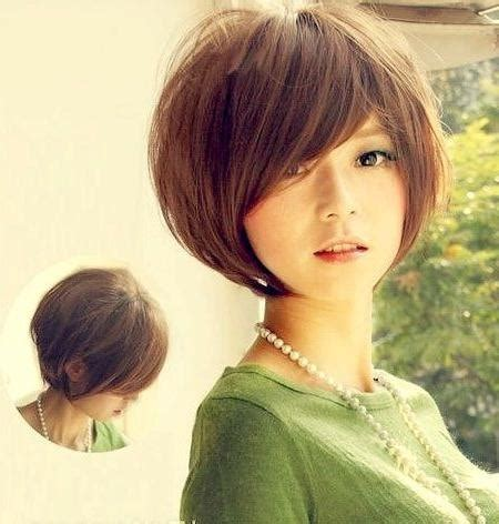 hair styles on pinterest round faces stephanie powers 2018 popular cute korean short hairstyles
