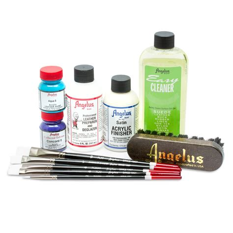 angelus paint kit sears collector edition starter kit shoe cleaner customize