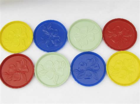 retro colors 1950s retro colors 1950s vintage plastic coasters for summer