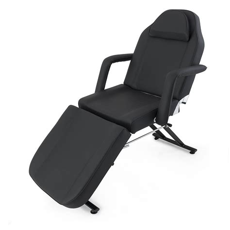 adjustable bed chair spa salon equipment black ebay