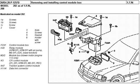 94 e420 mercedes wiring diagram get free image