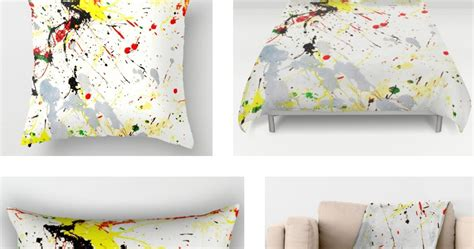 splatter paint bedroom paint splatter bedroom decor at society6