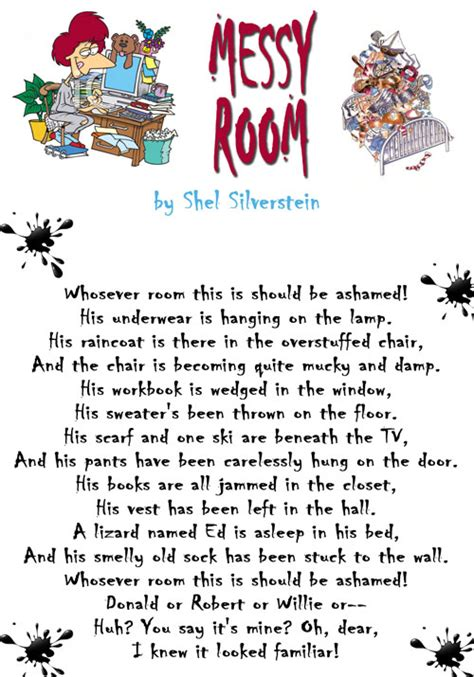 Room By Shel Silverstein by Language Arts Thoughts On Room By Shel Silverstein