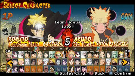 game naruto ppsspp mod naruto shippuden ultimate ninja storm legacy mod textures